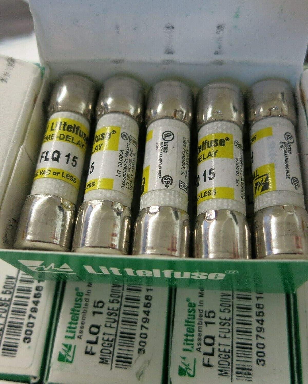 Littlefuse FLQ 15 Box of 10
