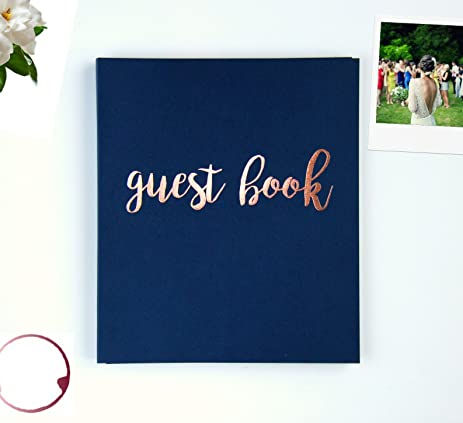 Amazon.com: Polaroid Guest Book Wedding Guest Book, Photo Booth ...