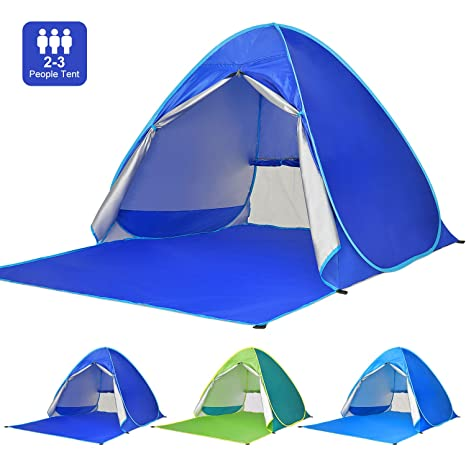 0280518481ee Amazon.com  Victostar Pop up Beach Tent