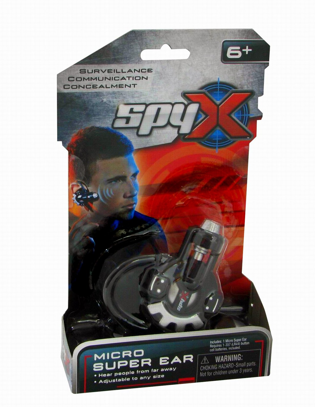 SpyX / Micro Super Ear - Spy Toy Listening Device with Over-the-Ear Design. A Perfect hands free addition for your spy gear collection! by SpyX (Image #6)