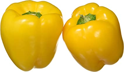 Fresh Capsicum, Yellow, 250g Pack