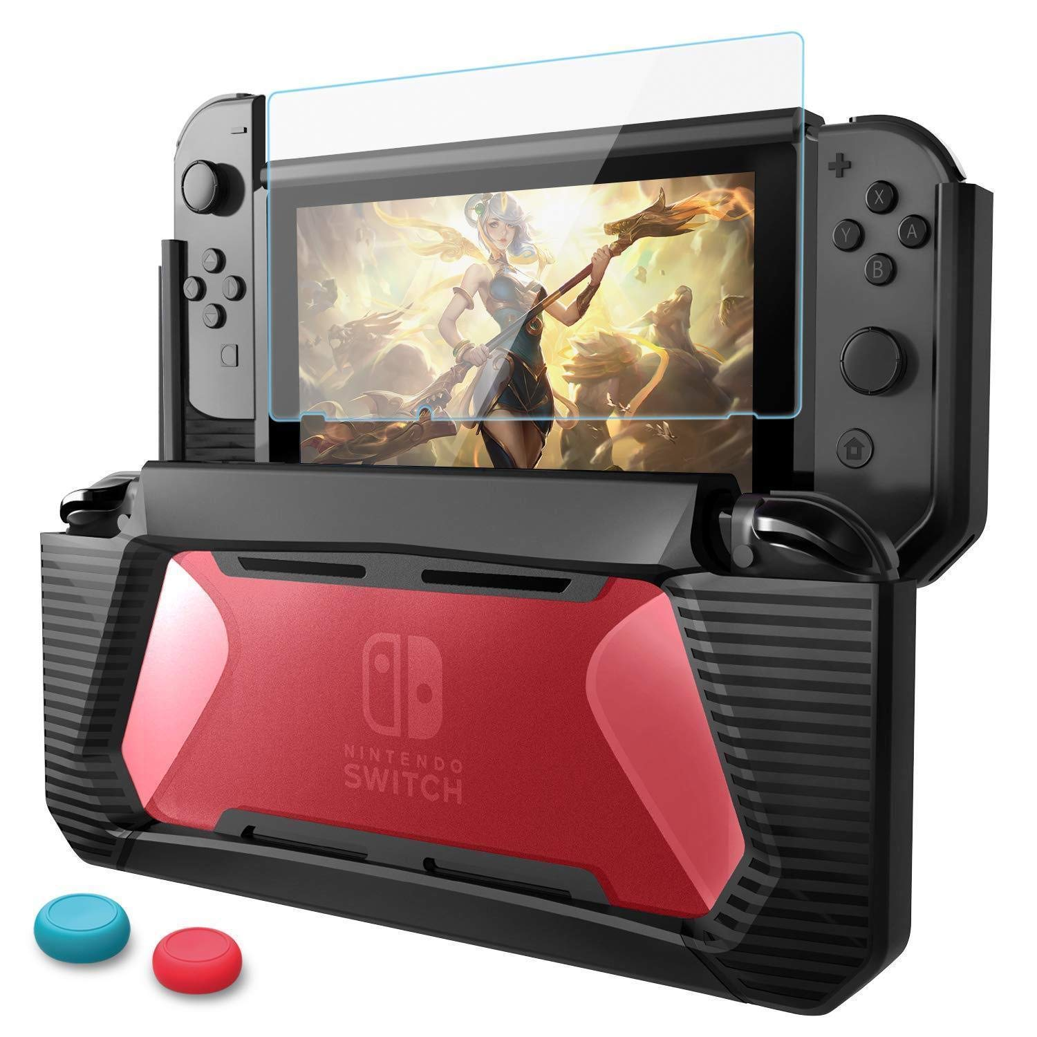 Feefine For Nintendo Switch Protective Case,TPU PC Hard ...