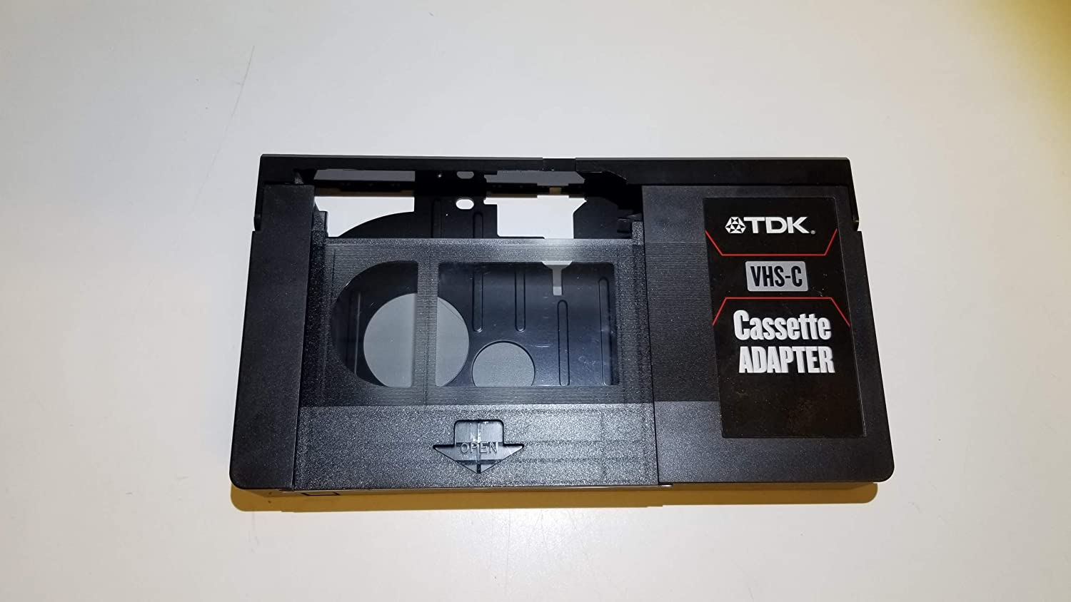Amazon Com Tdk Vcl Cabh Vhs C Cassette Adapter Discontinued By Manufacturer Blank Vhs C Tapes Camera Photo