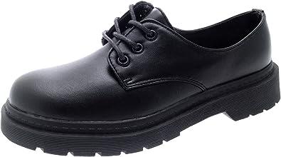 Bags Strong Souls Boys Black School Shoes