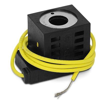 amazon com: deltrol 10266-08 solenoid coil, single lead wire, 10v dc, 08  series: home improvement