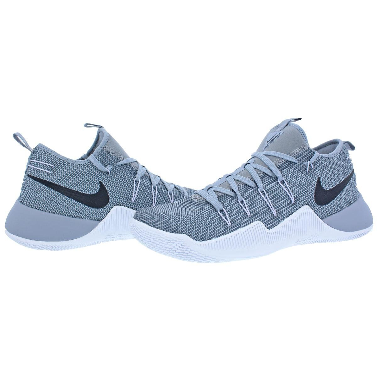 newest 878b6 d18ee Nike Hypershift TB Promo Men s Mesh Lace-up Basketball Shoes Grey Size  12.5  Amazon.co.uk  Shoes   Bags