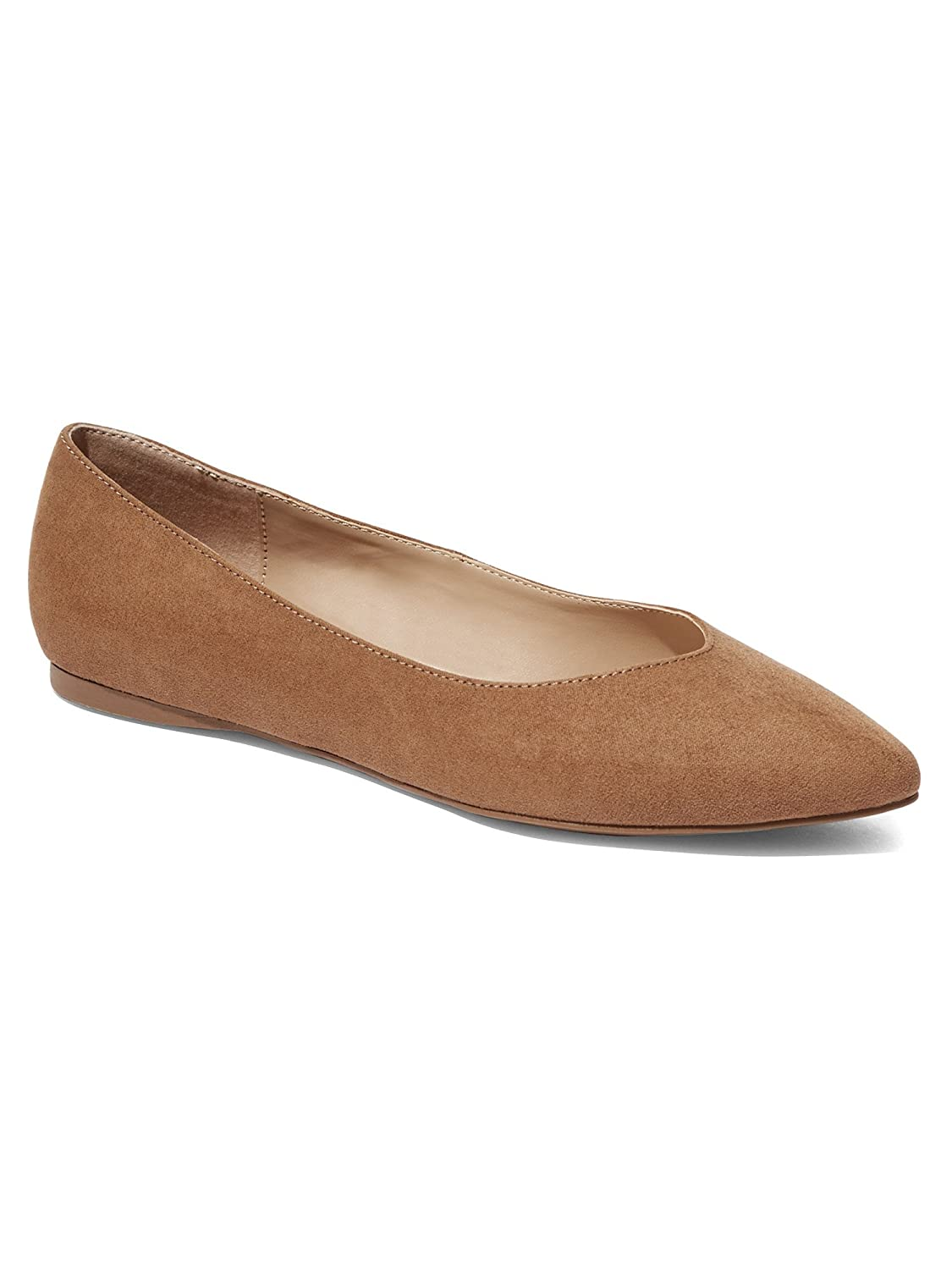 Womens Pointed-Toe Flat New York /& Co