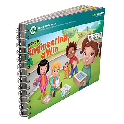 LeapFrog LeapReader Writing Workbook: Write it! Engineering a Win: Toys & Games
