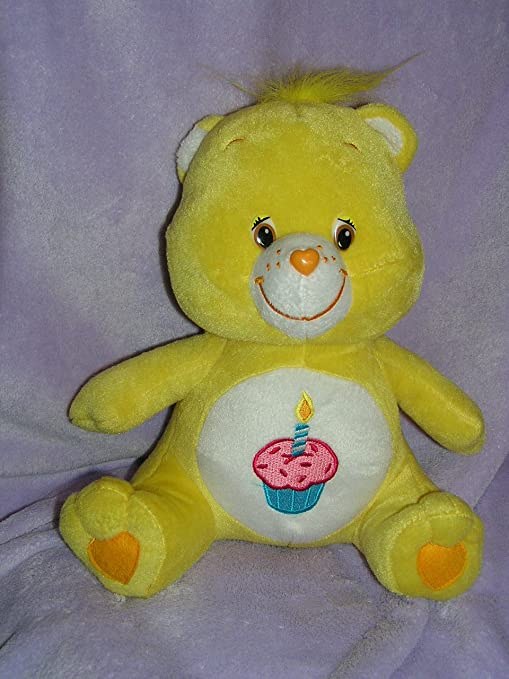"""212a11188 Image Unavailable. Image not available for. Color: Care Bears 11"""" Plush  Birthday Bear Doll"""