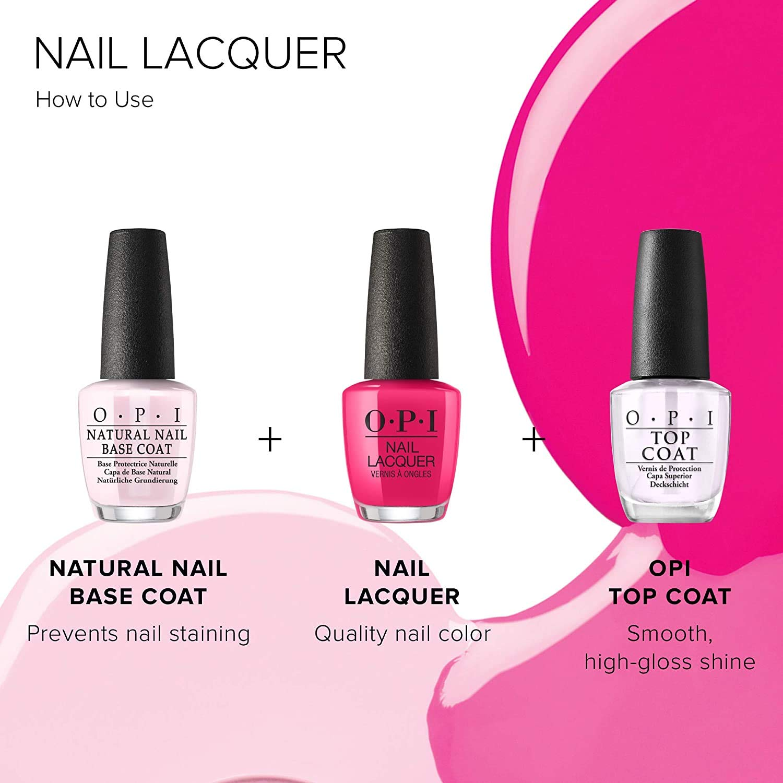 OPI Nail Polish, Nail Lacquer, Kyoto Pearl, White Nail Polish, 0.5 Fl Oz: Premium Beauty
