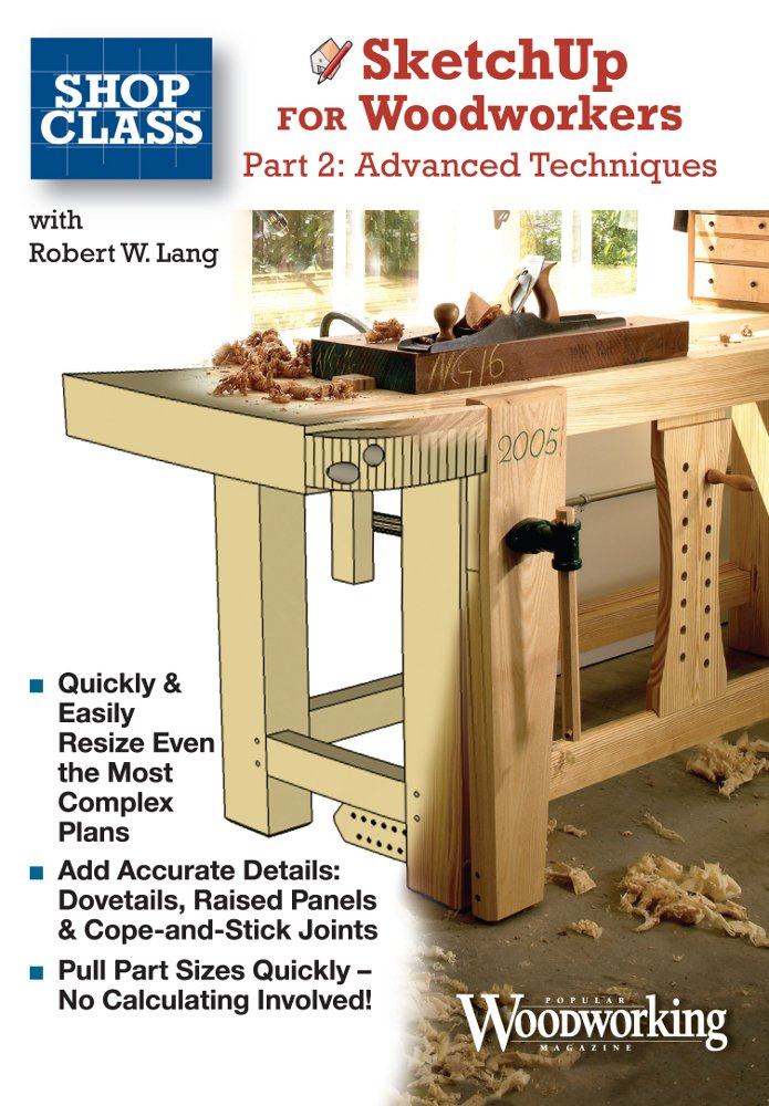 Sketchup Woodworkers Techniques Bob Lang
