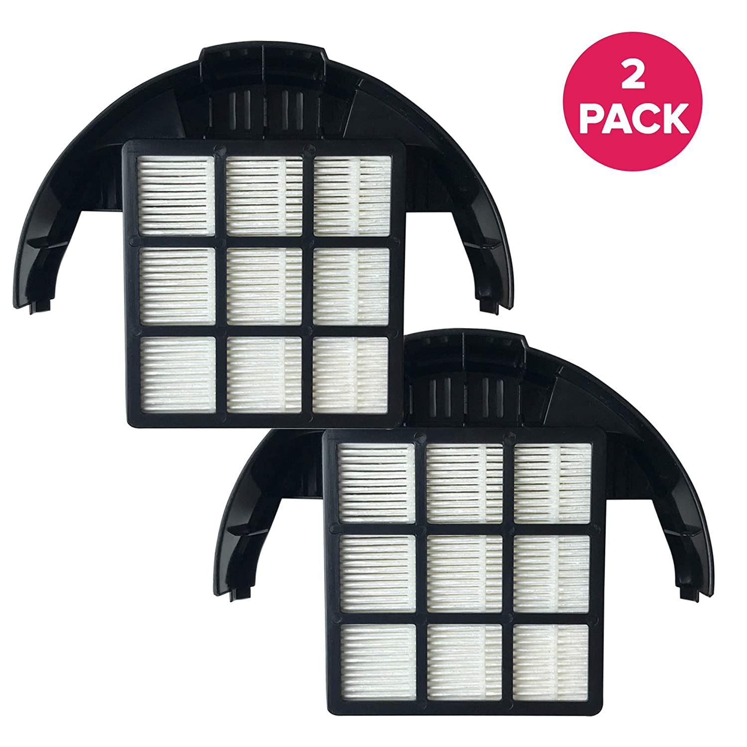 Think Crucial 2 Replacements for Hoover T-Series HEPA Style Filter Fits WindTunnel & Rewind Bagless, Compatible With Part # 303172001, 303172002 & 902404001