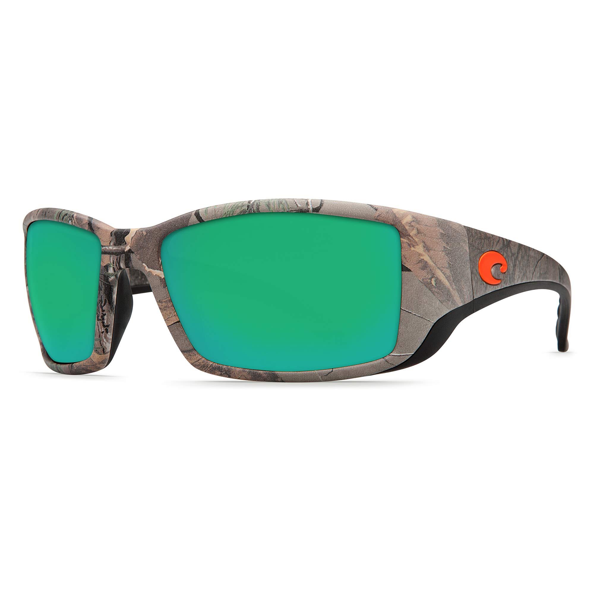 Costa Del Mar Blackfin Sunglasses Realtree Xtra Green/Realtree Xtra Camo Mirror 400Glass