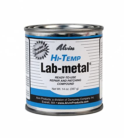 Adhesives, Sealants & Tapes Charitable Alvin 14 Oz Lab Metal Repair And Patching Compound Withstands Temps Up To 1000f Glues, Epoxies & Cements