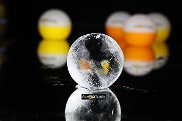 mega esferas de hielo xxl de tradicin japonesa by funukitchen cuatro moldes premium de silicona