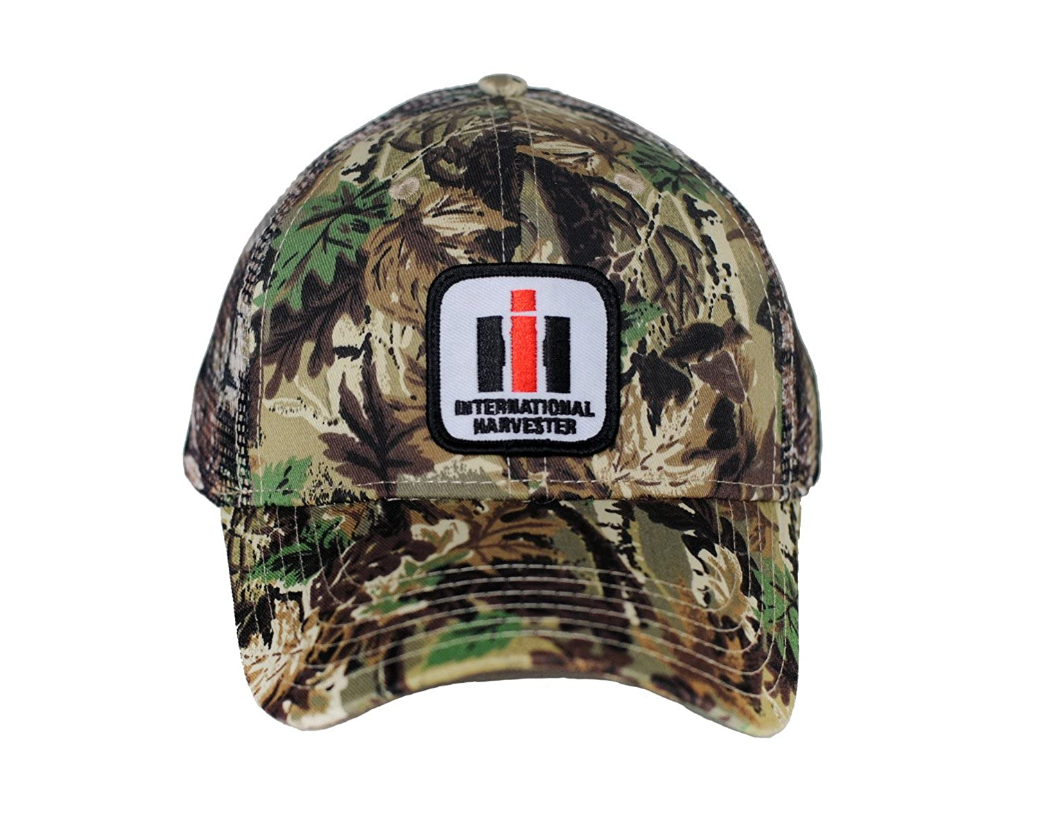 6772772a J&D Productions International Harvester IH Logo Hat, Camouflage Mesh at  Amazon Men's Clothing store: