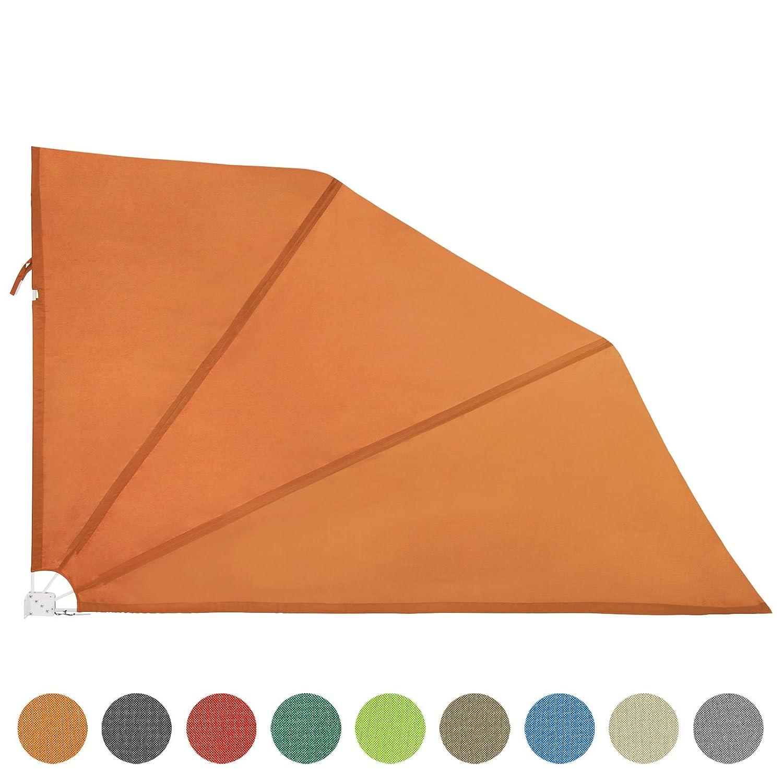 Jago - Tenda laterale per balcone frangi vento e frangi vista in 3 diverse misure, confezione singola o a due pezzi