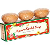 Mysore Sandal Soap, 150g - Pack of 3