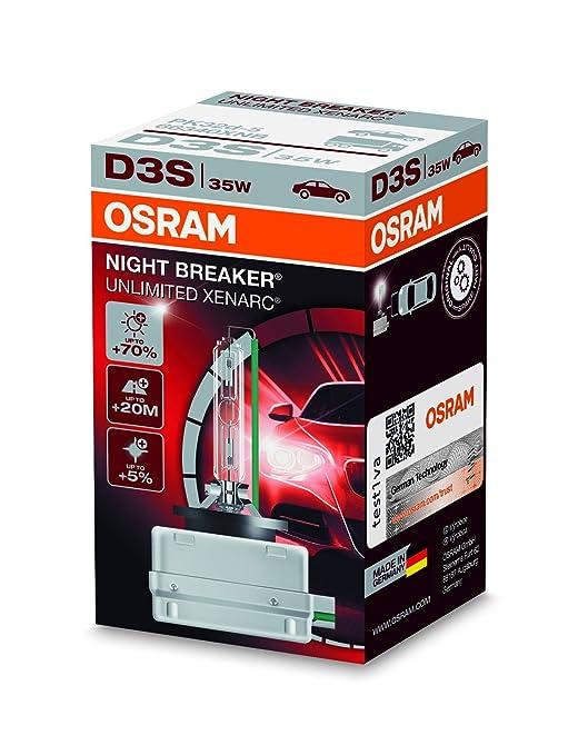 38 opinioni per Faro allo xeno OSRAM XENARC NIGHT BREAKER UNLIMITED D3S HID, lampada a scarica,