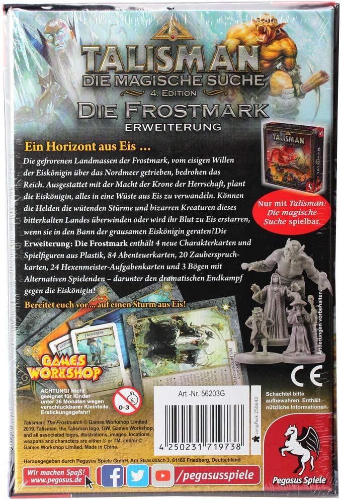 Pegasus Spiele 56203G Talisman Die Frostmark - Juego de Mesa [Importado de Alemania]: Amazon.es: Juguetes y juegos