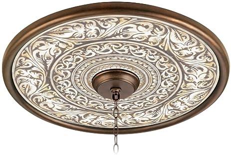 Superior Florentine Flourish 24u0026quot; Giclee Bronze Ceiling Medallion