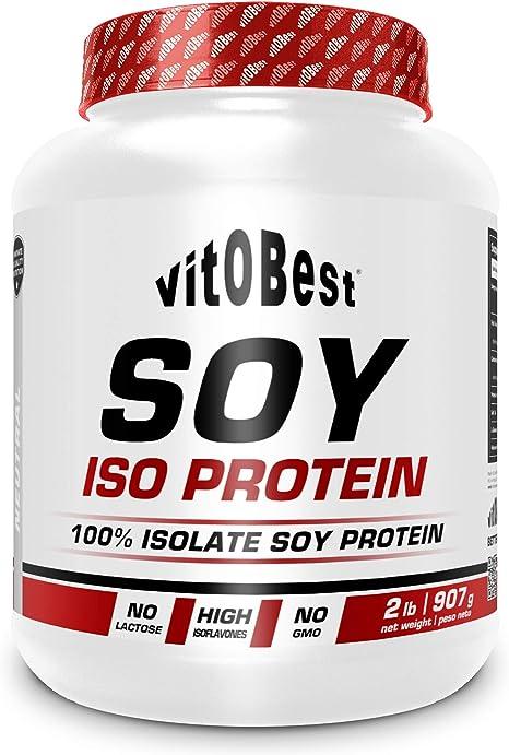SOY ISO PROTEIN 2 lb VAINILLA - Suplementos Alimentación y Suplementos Deportivos - Vitobest