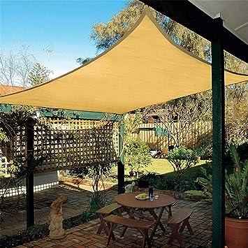 Tela de sombra, con grommets durable sol malla sombra parasol ...