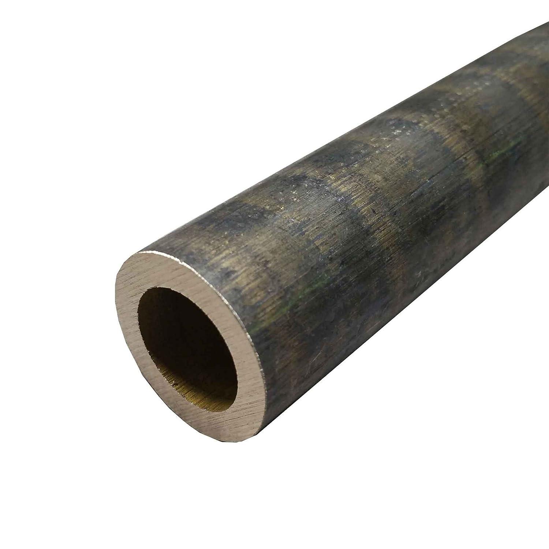 Online Metal Supply C630 Bronze Hollow Round Bar 4-1//2 OD x 2 ID x 12 Long