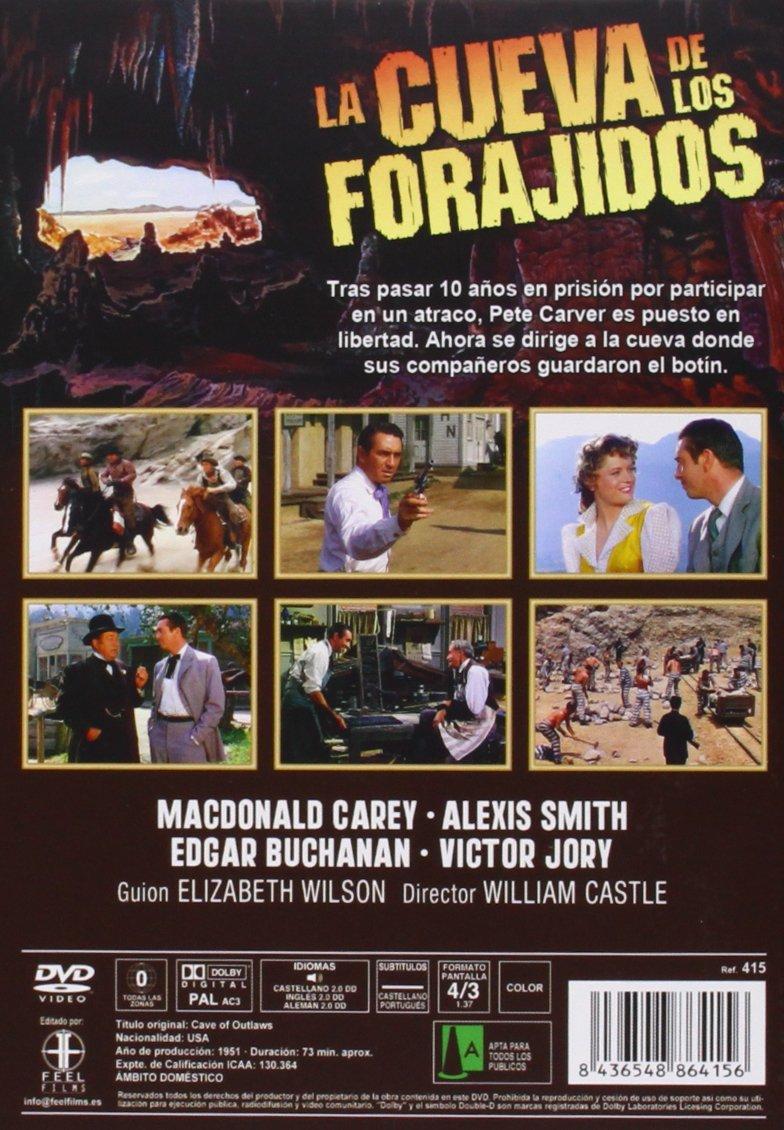 Amazon.com: Cave of outlaws - La cueva de los forajidos - William Castle - Macdona Carey: Movies & TV