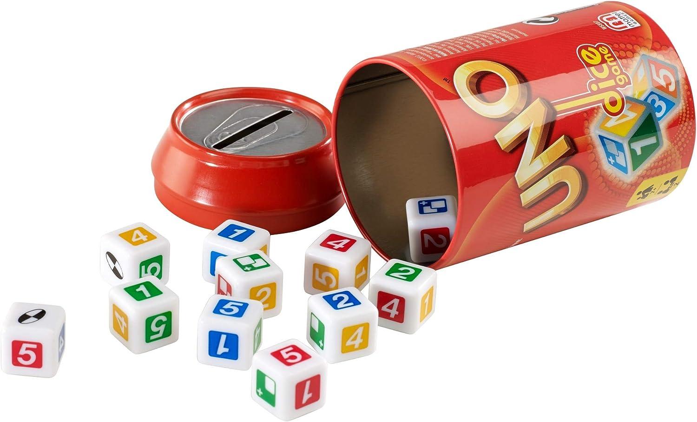 Juegos Mattel - Uno Dados, Juego de Mesa (W5807): Amazon.es: Juguetes y juegos