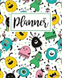 2019 Planner for Kids: 2019 Planner Weekly and Monthly for Kids: Academic Year Calendar Schedule Appointment Organizer and Journal Notebook to Do List ... for 2019 Large Letter Size 8 X 10 - Alien