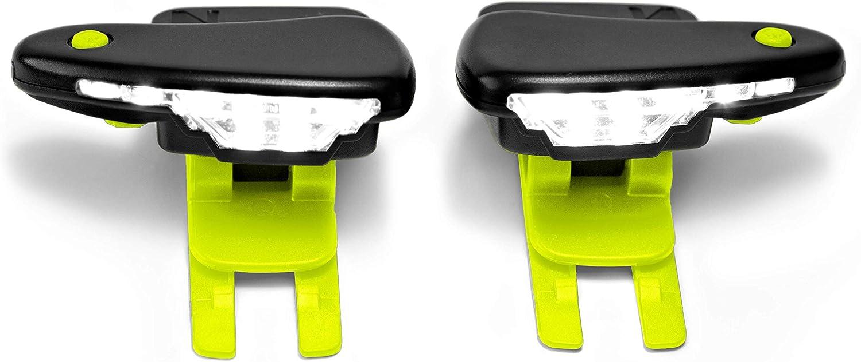 1 Pair Cycling Running Walking LED Luminous Sports Shoe Night Safety N3w2