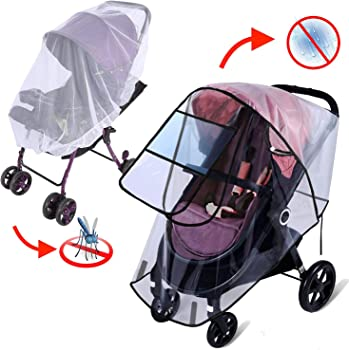 Apsung 2-Piece Universal Stroller Cover Set