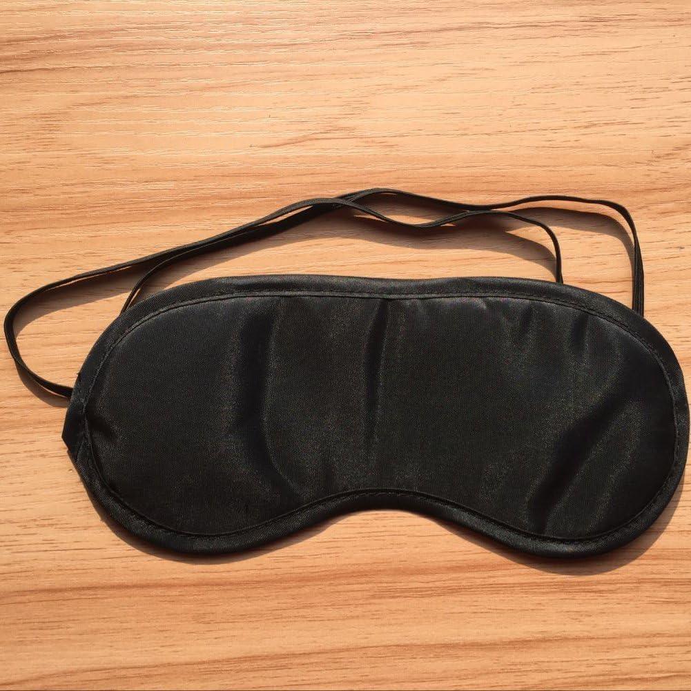 Cosanter 10 X Noir Masque de Voyage Anti Fatigu/é Masques de Sommeil Anti-lumi/ère Bandeau de Nuit pour Dormir Repos