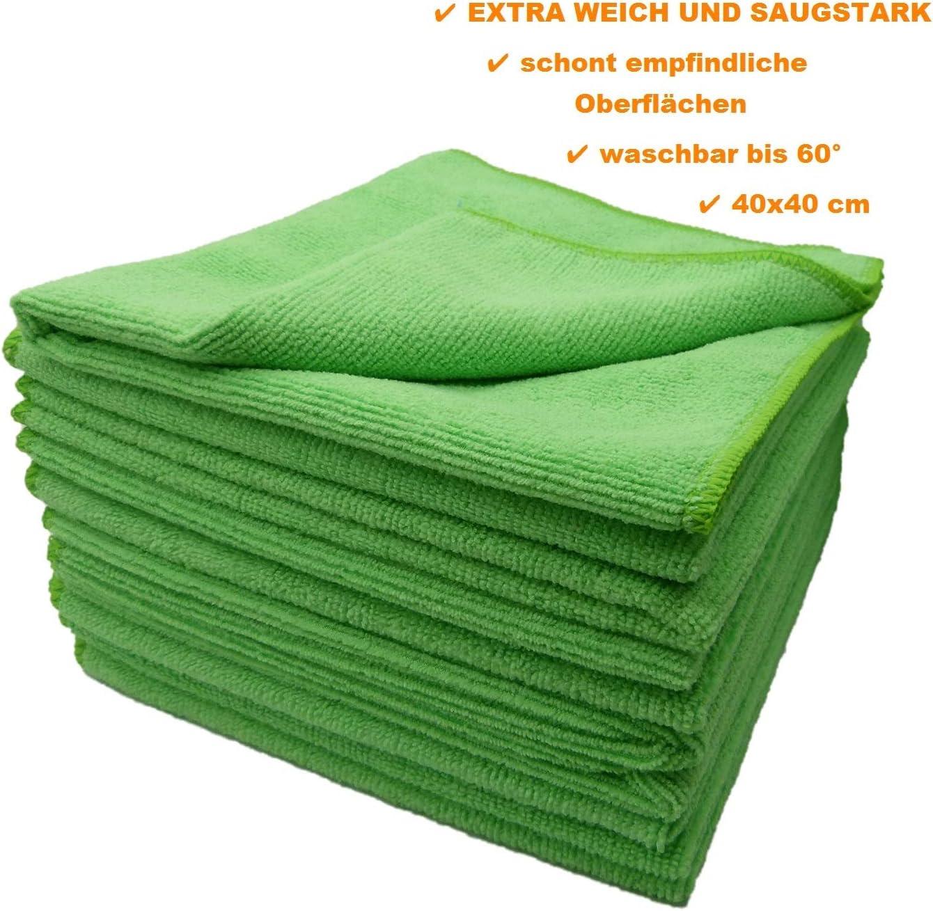 240 affaire 16x16 microfibre à usage unique chiffon de nettoyage sans trace Qualité Premium!