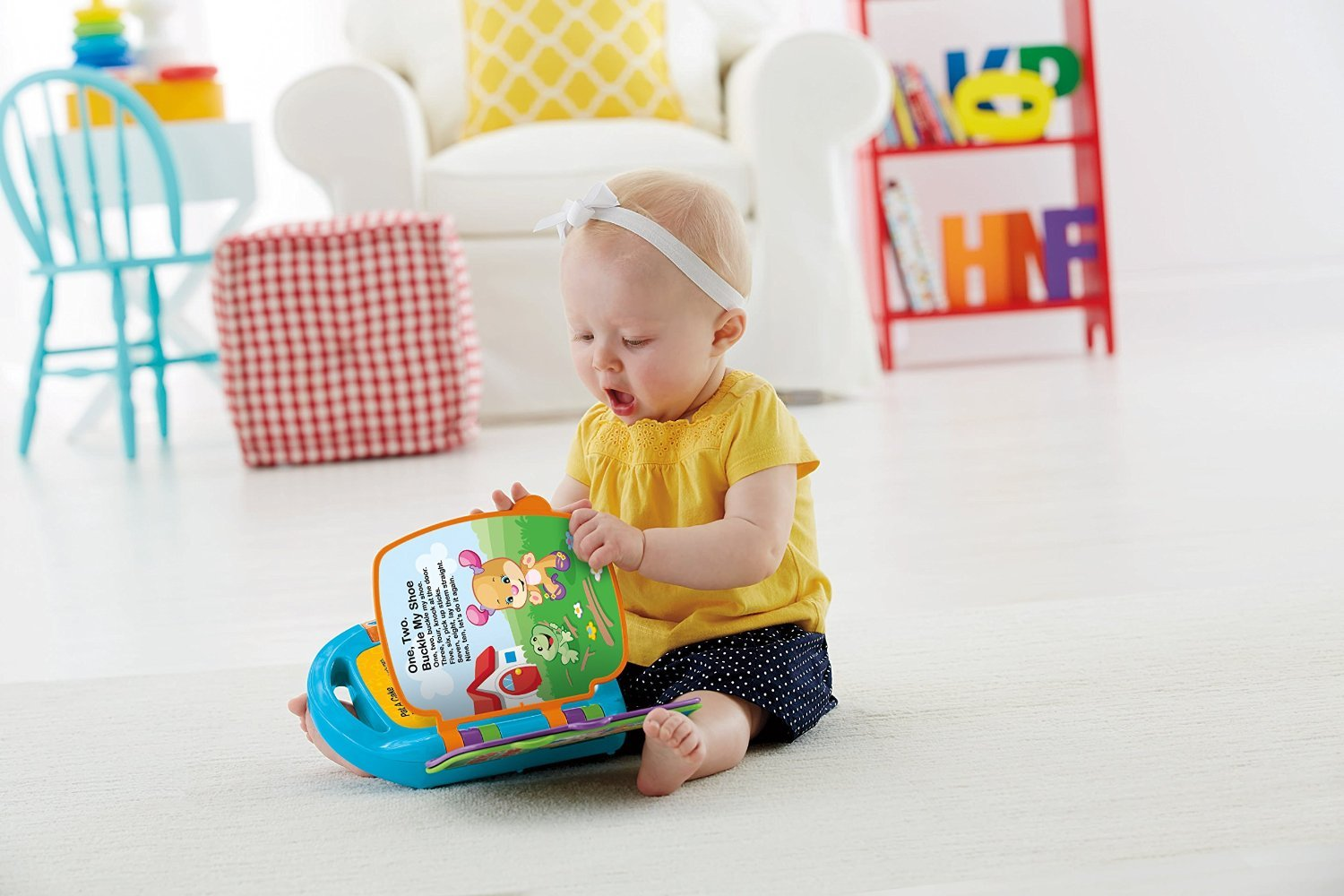 Fisher-Price Laugh & Learn Storybook Rhymes Book by Fisher-Price (Image #8)