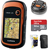 Garmin eTrex 20x Handheld GPS (010-01508-00) with 32GB Accessory Bundle Includes