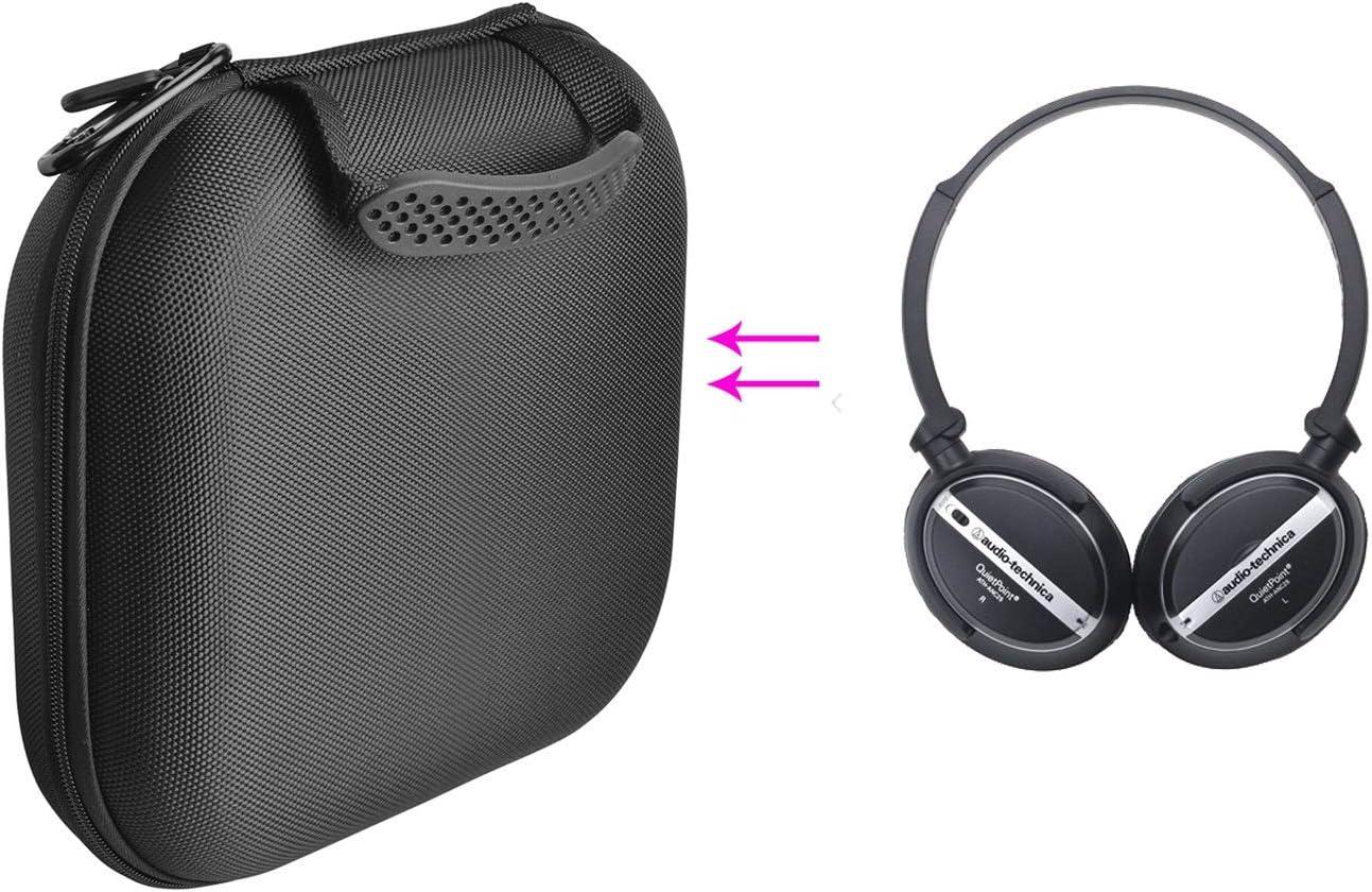 GH GHawk® Audio Technica ATH-ANC25 Estuche para Auriculares Estuche rígido de Viaje Bolsa de Transporte Protectora Caja de Auriculares Auricular Estuche portátil: Amazon.es: Electrónica