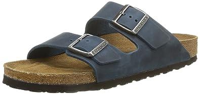 Birkenstock Arizona unisex erwachsene, glattleder, sandalen, 43 EU