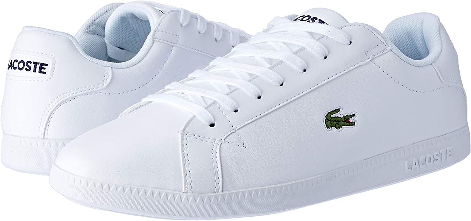 Graduate BL 1 Leather Trainers, White