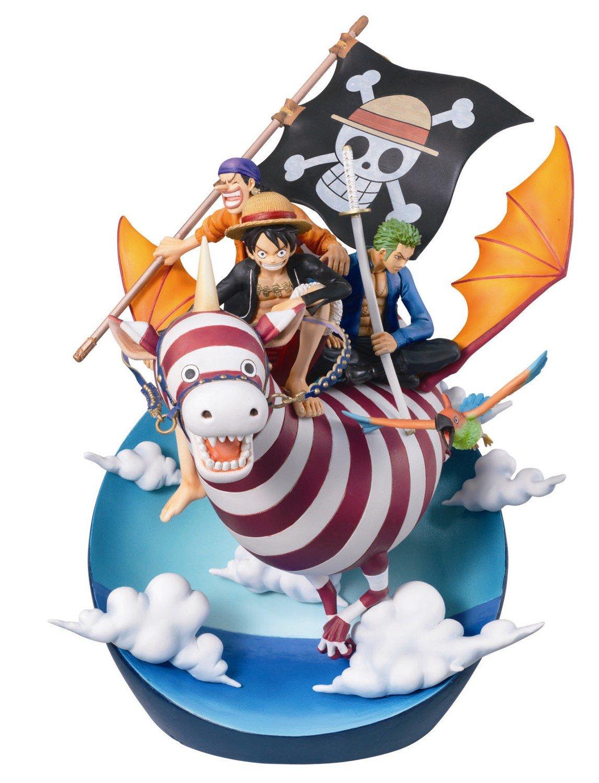 Megahouse One Piece Real McCoy 03 Desktop Statue (japan import)