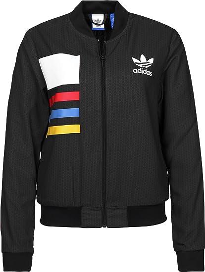 Adidas AOP Tracktop W veste de survêtement 34 shadow black