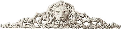 Design Toscano NG315550 Remoulage Lion Wall Sculpture Door Decor Pediment