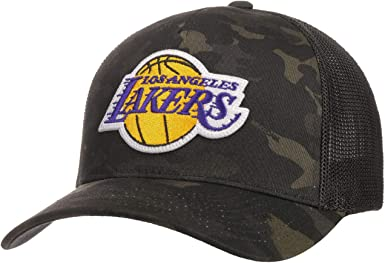 Mitchell & Ness Gorra Trucker Multicam L.A. Lakers Camuflaje ...