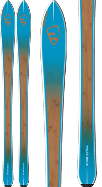 halvempaa myöhemmin hullu hinta SALOMON BBR 7.9 Skis Blue/Brown