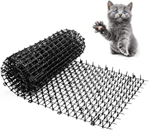 Gardentisan Scat Mat for Cats with Petsafe Plastic Spikes Large Indoor Outdoor Cat Scat Mat 78