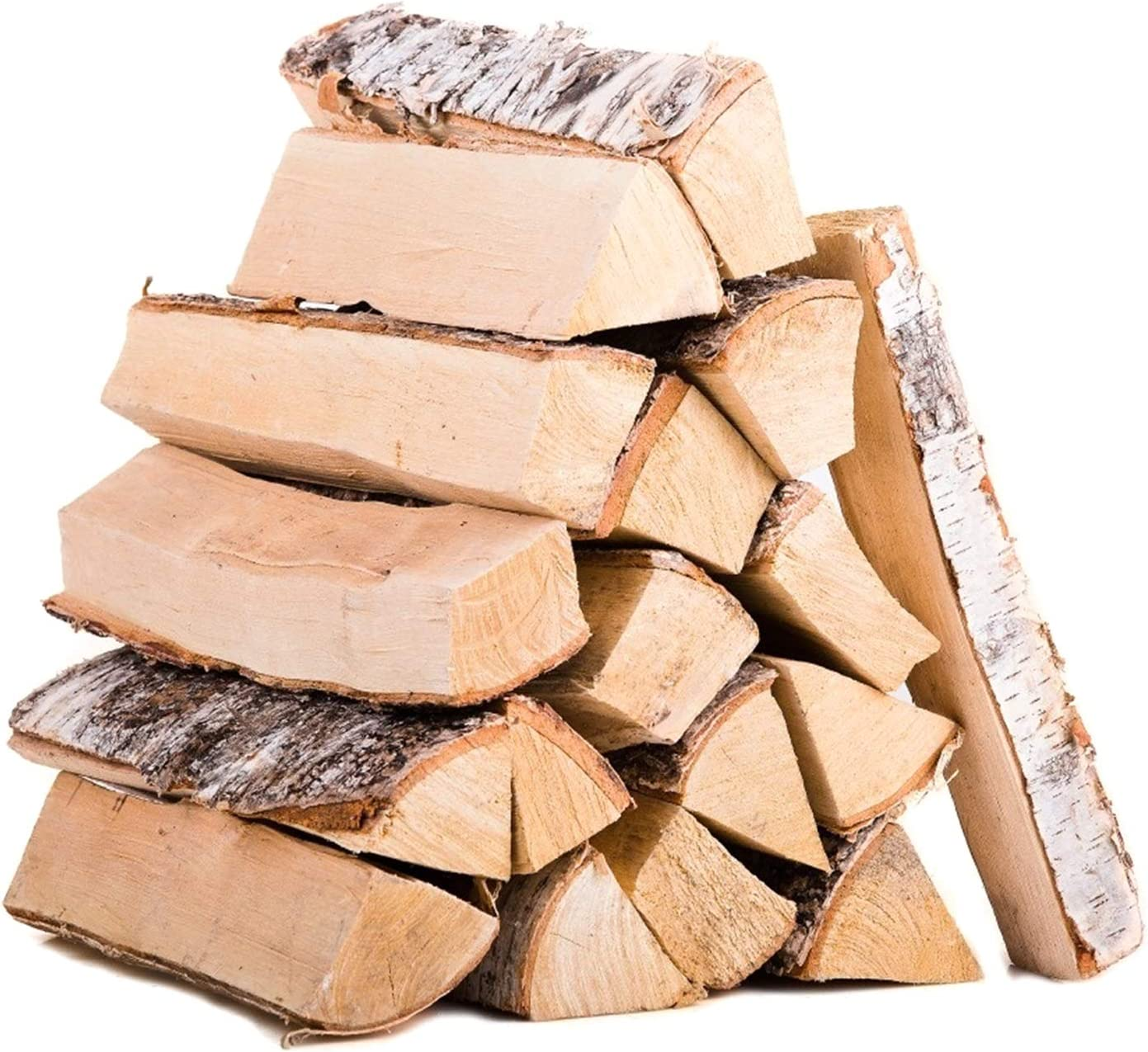 11lbs Apple Firewood Cooking Wood Log- 8.3''Easy-lighting Wood Chunks in Good Size Natural Dried Barbecue Large Cut Chips with Cardboard Box for Fireplace Campfire Firepit Smoking Cooking Grilling BBQ