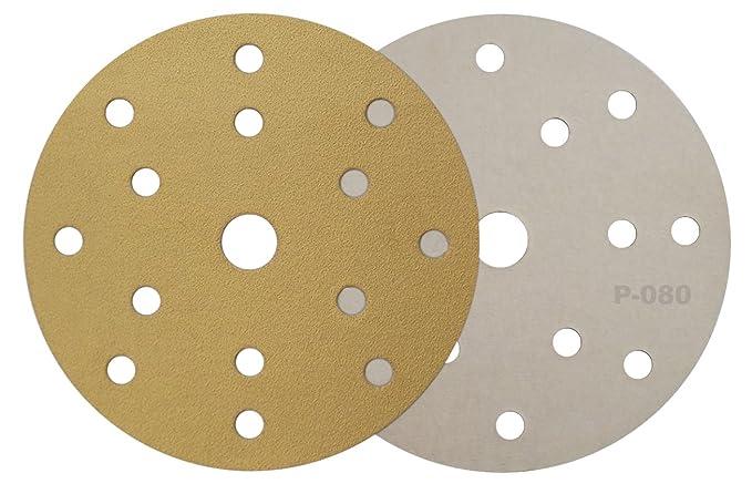 1 opinioni per Sandyflex- mod. G-080–Disco abrasivo con velcro, diametro: 150mm, 15T (15