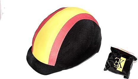 KLES´S Funda para Casco de Equitación Diseño Bandera de España. Equestrian Hat Cover.: Amazon.es: Deportes y aire libre