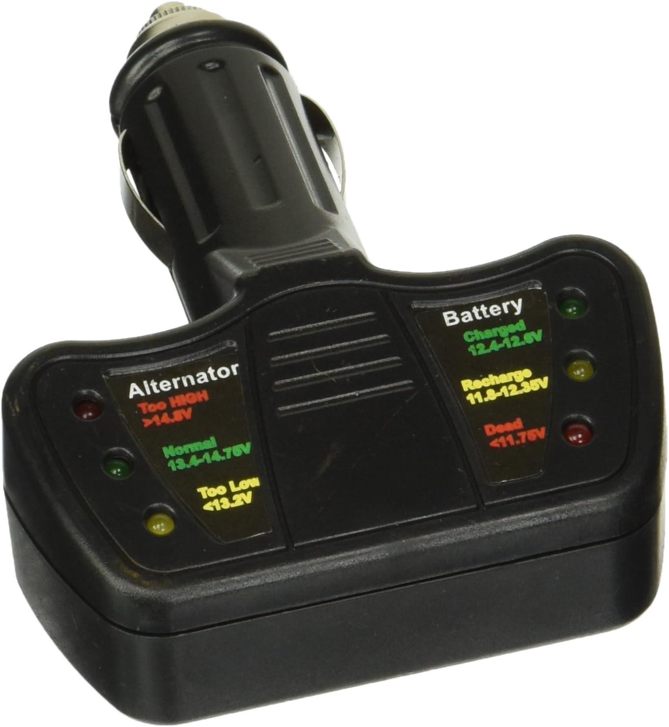 Batería De Coche /& Alternador Probador Para Peugeot 207 12v voltaje de CC cheque
